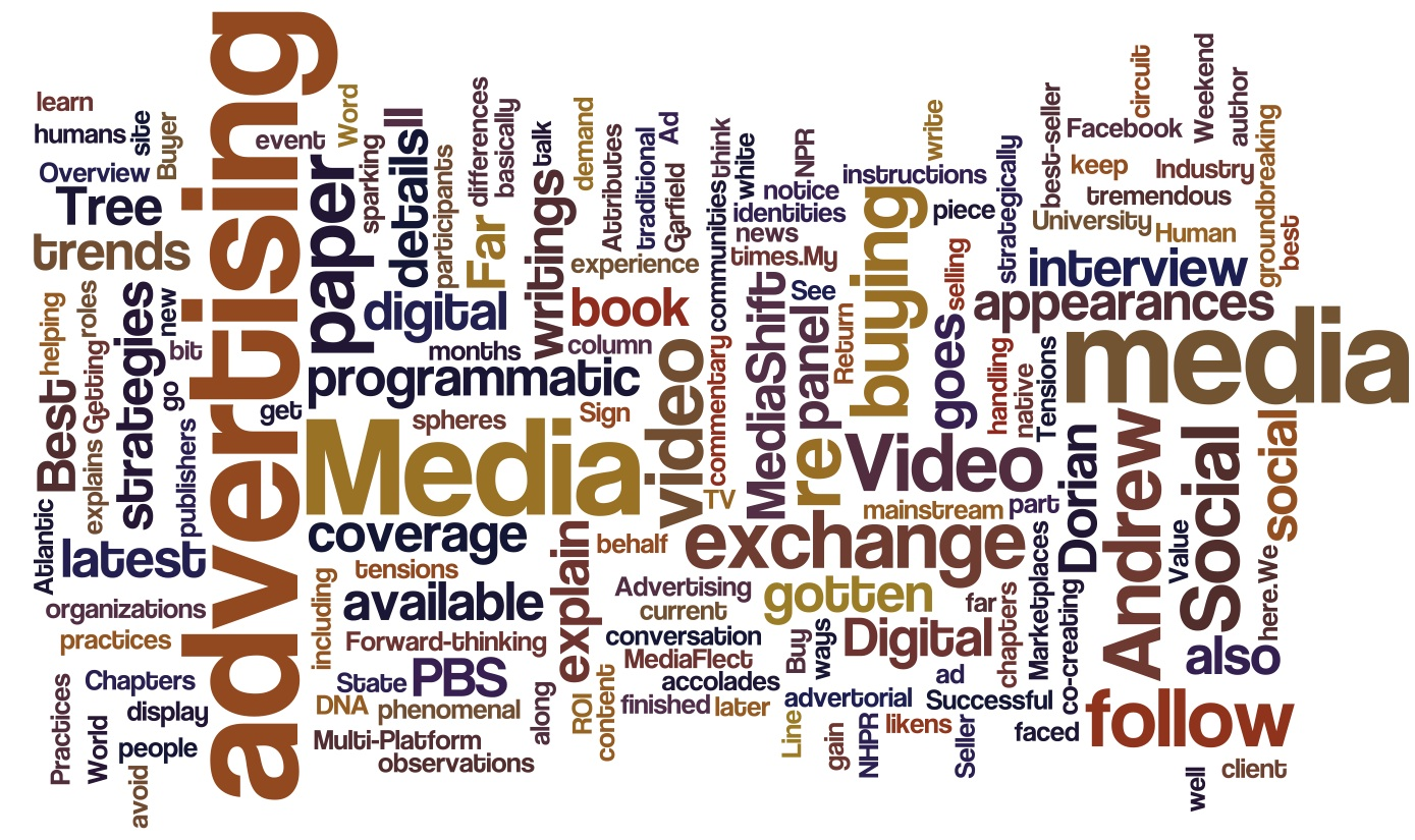 media create our way of thinking Moreover, this special concern — the influence of the mass media on the  their  own radio and television stations, created their own film production companies,.